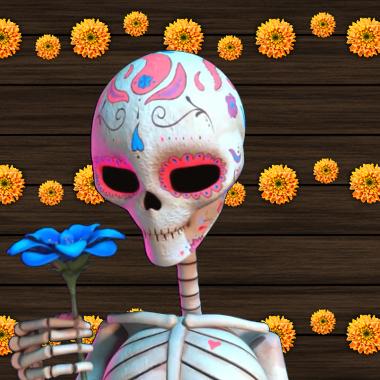 dia de los muertos grafika