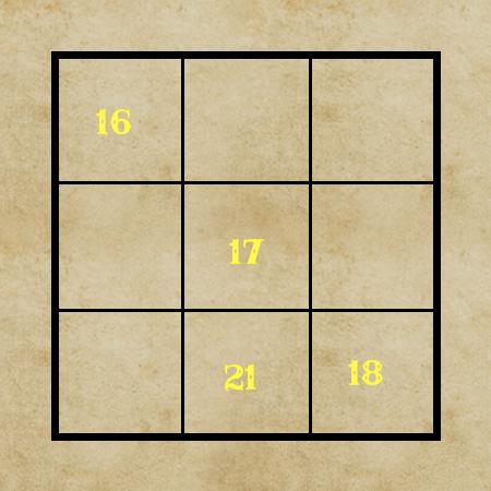 Magiczny kwadrat 19.04
