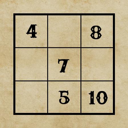 Magiczny kwadrat_zadanie